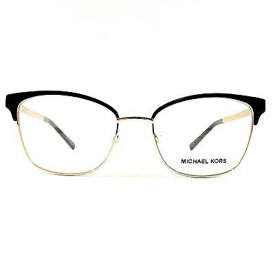 99dd993be3 Michael Kors Adrianna IV Optical Eyeglasses RX Frame MK3012 1113 Black Rose  Gold