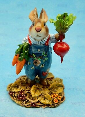 WFF# B-27p Wee Forest Folk WHITE DOVE OF HOPE LTD Bunny 2019