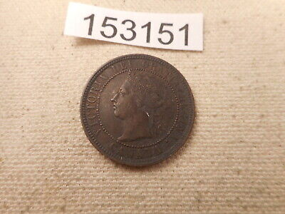 1888 Canada Large Cent Very Nice Collector Grade Raw Album Coin - # 153151