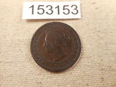 1888 Canada Large Cent Very Nice Collector Grade Raw Album Coin - # 153153