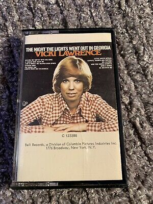 Vicki Lawrence: The Night the Lights Went Out in Geirgia - Cassette 1973 Bell