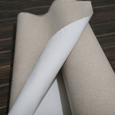 Blank Canvas Coating Oil Painting Craft Art Supplies 28CM Width 1m One Roll