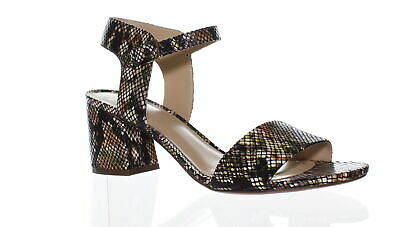 cdd971ac5b1 Naturalizer Womens Black Ankle Strap Heels Size 8.5 (430858)