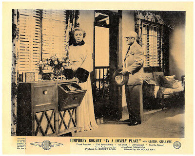 A Lonely Place original 8x10 lobby card Gloria Grahame in scene 1950