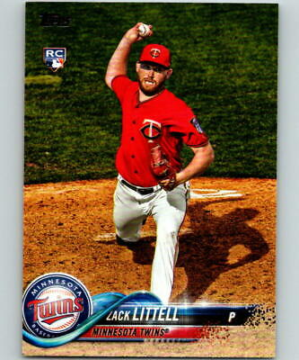 (HCW) 2018 Topps Update #US91 Zack Littell MINT RC Rookie 07290