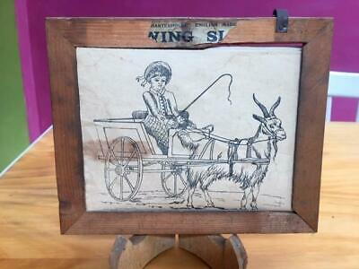 Antique Child's Drawing Set - Charterhouse England Rare & Old Drawings