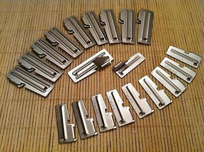 Set of P-51 & P-38 Can Openers 20 Pack - 10 of Each Shelby US Made Survival Gear