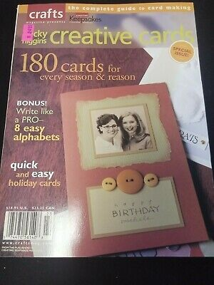 Crafts Magazine Creative Cards 180 Cards Becky Higgins Special Issue