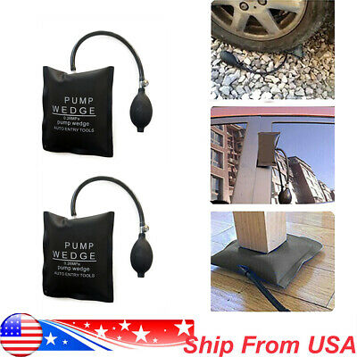 Air Pump Wedge Automotive Bag Car Window Doors Lock Shim Emergency Entry Tools