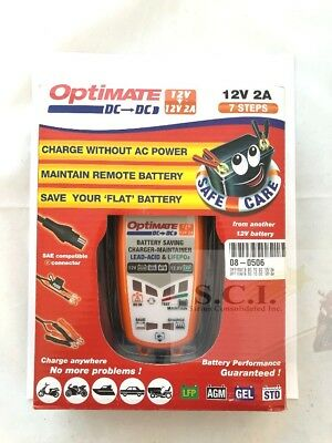 Optimate Dc à Tm-500 12v Batterie Dc Alimentation à 12v Plomb Acide ou Lithium