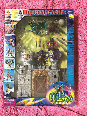 The Wizards Magic Mystical Castle Play Set Action Chap Mei Unopened Unused