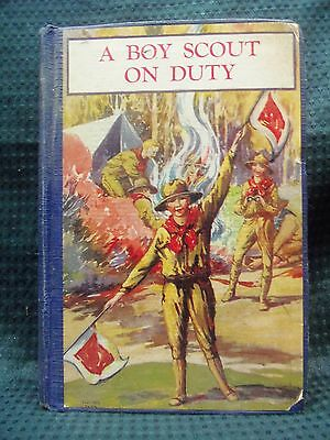 BS 1811 a Boy Scout On Duty por George Durston 1927 Hardcover