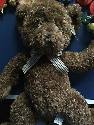 Russ Berrie Newton Bear Soft Toy Collectable Vintage Bear w/tag