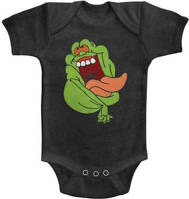 La Vera Ghost Busters Crazy Slimer Tutina Onezies 6 - 24 Mese Bambini Film