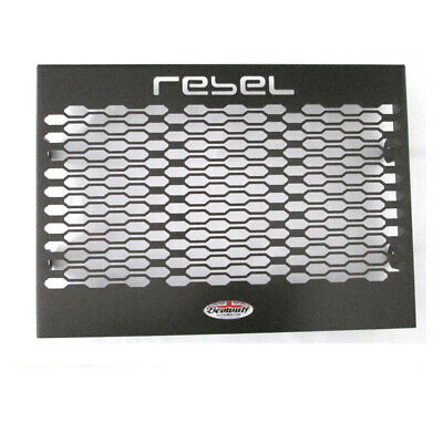 Honda CMX500 Rebel (17-19)  Beowulf Black Radiator Guard Cover Grill