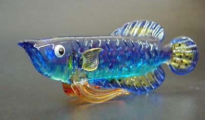 Glass Aquarium FISH Painted Glass Animal Tropical Glass Ornament Glass Figure