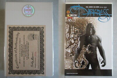 Darkness #1 DF Alternate Wizard Blue Foil Ltd. to 999 With COA