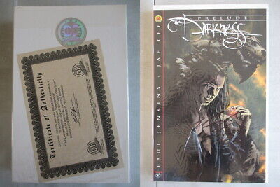 Darkness #1 Prelude DF Exclusive Signed by Nick Barrucci With COA