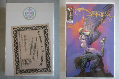 Darkness #1/2 DF Gold Foil Edition Ltd. to 1500 With COA