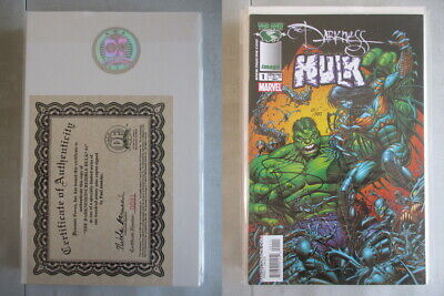 Darkness/Incredible Hulk #1 Signed Paul Jenkins Ltd. to 199 With COA