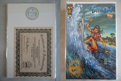 Fathom #10 DF Exclusive Gold Foil Cover Ltd. to 5000 With COA