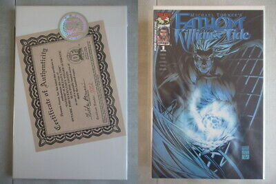 Fathom Killian's Tide #1 DF Blue Foil Edition Ltd. to 3500 With COA