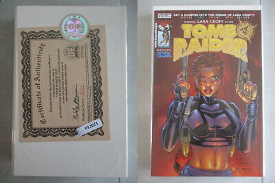 Tomb Raider #1/2 DF Gold Foil Edition Ltd. to 999 With COA