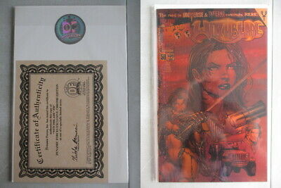 Witchblade #50 DF Exclusive Chrome Edition With COA