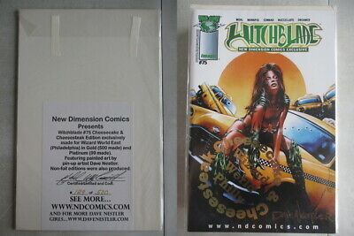 Witchblade #75 Wizard World East Gold Edition Ltd. to 500 With COA