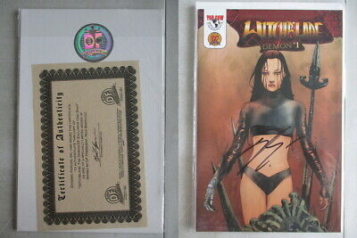 Witchblade Demon #1 DF Exclusive Signed by Nick Barrucci With COA