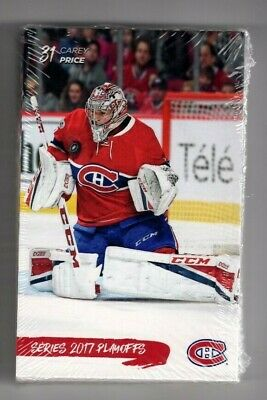 2016-17 Montreal Canadiens Team Set Issue Post Card Playoffs Sealed