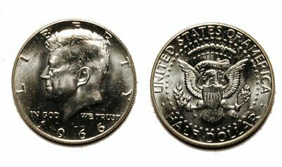 1966-P Kennedy Half Dollar - Business Strike - Gem BU   #802