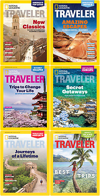 National Geographic Traveler Usa 2018 Full Year Pdf  Collection