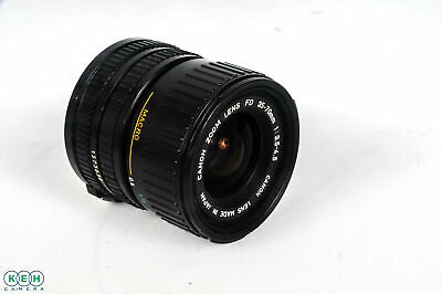 Canon 35-70mm F/3.5-4.5 Macro 2-Touch FD Mount Lens *AS-IS*