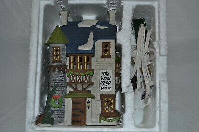 "Dickens Village Series Department 56 ""The Wool Shop Yarn"" 1988 RETIRED  #5924-2"