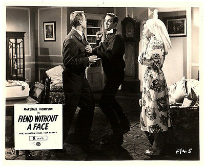 Fiend Without A Face Original Lobby Carte Horreur Marshall Thompson Kim