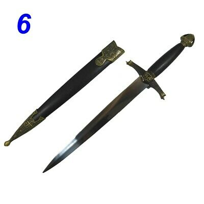 Lancelot Medieval Knight Crusader Collectible Sword New (A606)