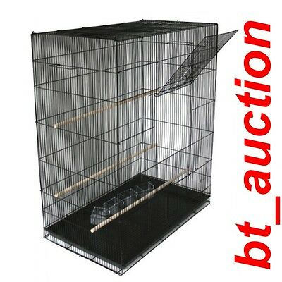 Large Bird Pet Parrot Iron Metal Aviary Cage New (423B)