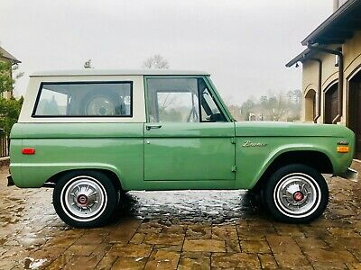 1970 Ford Bronco  1970 Ford Bronco Mint Condition 37k ORIGINAL miles boxwood green modern updates