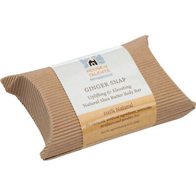 House of Talents Ginger Snap Soap 5oz Bar