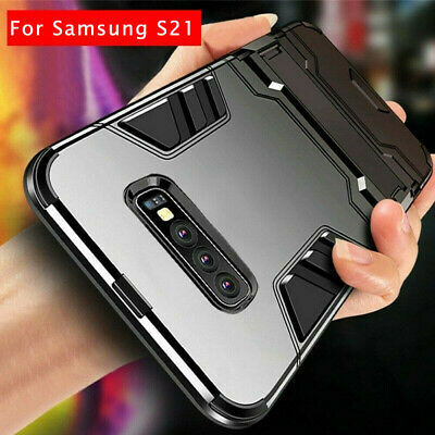 For Samsung Galaxy S10e S10 Plus S9 S8 Shockproof Hybrid Armor Stand Case Cover