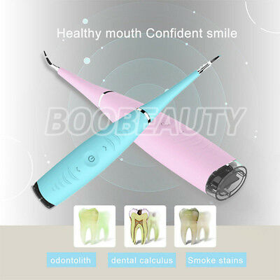 Electric Sonic Dental Scaler Tartar Calculus Plaque Remover Tooth Stains Tool