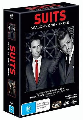 Suits SEASONS 1 2 3 : NEW DVD