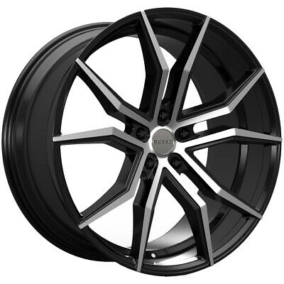 22 inch wheels rims black ford mustang explorer 5x4 5 chevy camaro Camro Pro Touring 4 new 22 inch rosso 702 icon 22x8 5 5x120 32mm black