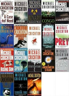 (18 AUDIOBOOKS) Michael Crichton - Complete Collection of MP3