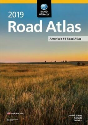 2019 Rand McNally Road Atlas 95th Edition by Rand McNally United States