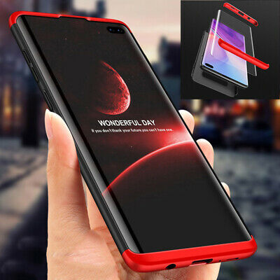 For Samsung S10Plus S10e Shockproof 360° Protective Case Cover+ Screen Protector