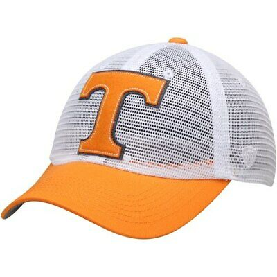 best service 478fd 12c93 Tennessee Volunteers Top of the World Mesh Made Snapback Adjustable Hat -  White