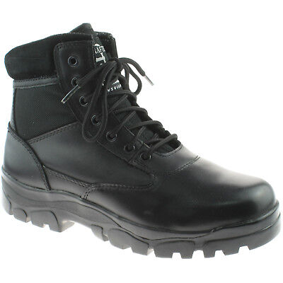 7911d2db7f3 Mens Grafters Insulated Combat Boots Size Uk 3 - 13 Security Black M870A Kd