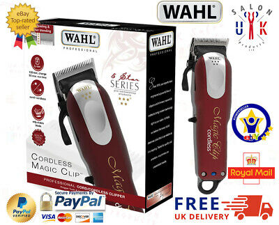 Wahl Professional 5-Star Cordless Magic Clip #8148 - UK Free Delivery